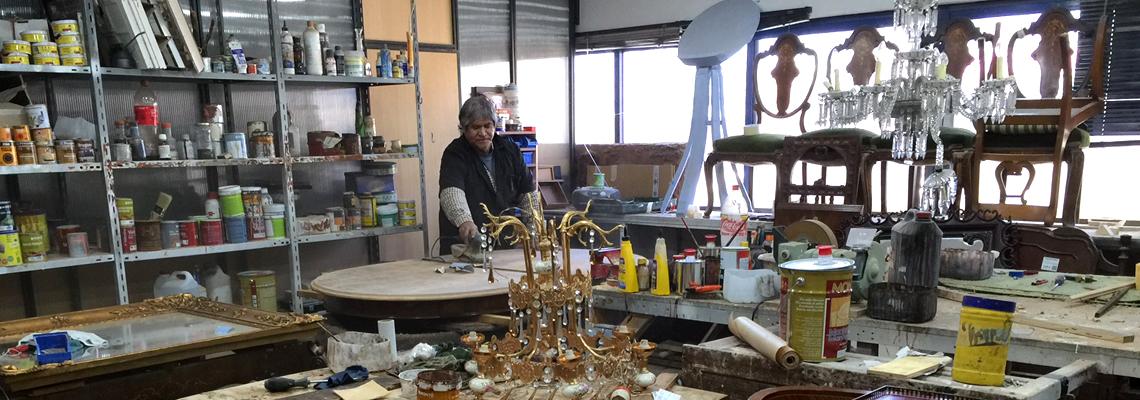 Restauración de mesas en Madrid