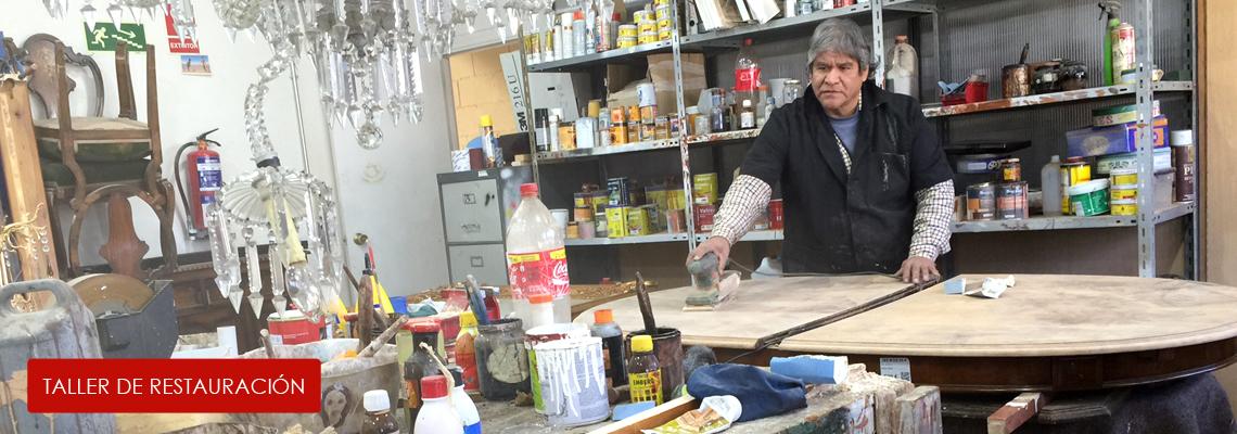 Taller de restauración de muebles en Madrid